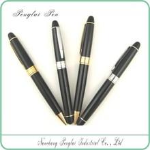 Customized logo laser engraved metal pens in ballpoint pens