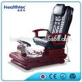 Hot venda preto manicure/pedicure carrinho com cadeira