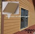 nouveau produit 2015 construction maison moderne de revêtement de mur extérieur en bois