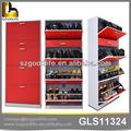 Goodlife e1 mdf material de madera del gabinete del zapato, estante del zapato organizador del armario