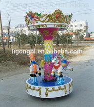 Mini shopping mall game revolving carousel for sale