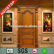 mahogany double entrance entry door solid wood door in cherry color