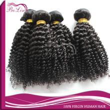 Chinese curly hair kinky curl human hair bundles chinese virgin human hair