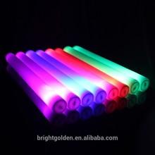 wholesale custom LOGO colorful led light sticks foam glow stick