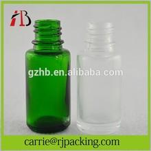 10ml clear frosted glass bottles essential oil e cig liquid 10ml dropper bottles aluminum