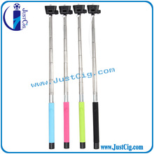 2015 new hot mono pod selfie stick with top Z07-5S cable take pole selfie stick made in JustCig