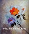 Hot vendre moderne, main décoration fleur peinture à l'huile
