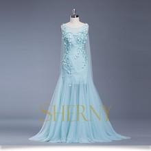 Sherny Bridals 2015 nouvelle arrivée Hot élégante robe de soirée Hijab