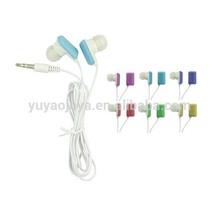 Earbud with Comfortable Rectangular Earplug