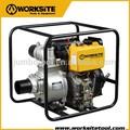 Worksite marque 4 polegada Diesel 4 Stork pompe