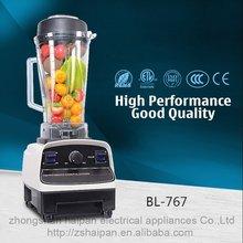 CE LFGB approval hotel electrical appliances smoothie maker quick best commercial blender