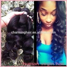 cheap unprocessed loose wave virgin brazilian hair