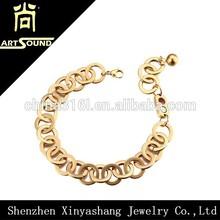 High quality promotional magnetic gold bracelet model