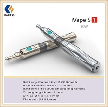 Karass wax smoking pen 30w vaporizer digital vaporizer