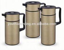 Hot-selling 1.5L Double Wall Stainless Steel Enamel Coffee Pot