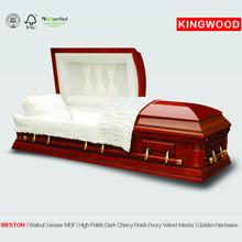 WESTON average cost of casket funeral equipment