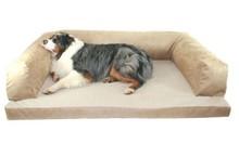 Grande ortopédico espuma sofá cão