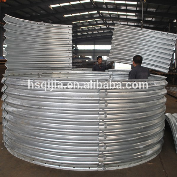 Large Diameter Culvert Pipe Arch Corrugated Carbon Steel
