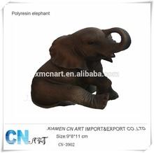 polyresin elephant statues elephant hair bracelet elephant sculpture
