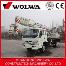 china small crane manufacturer supply 12 ton truck crane