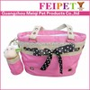 Best-selling luxury style pet travel bag wholesale dog products