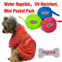 2015 Wholesale Dog Rain Coat Fashion Bobby Dog Coat UV Resistant Dog Coat