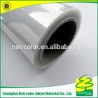 Clear Transparent Film for Inkjet printing