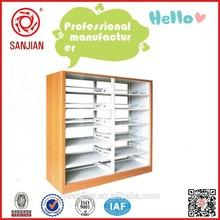 SJ-022 steel library bookshelf commercial metal furniture gujranwala