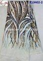 Cl9402- 1white2015 que vem de novo material de alta qualidade estilo africano renda líquida com sequinse embrodried para fazer o vestido da senhora