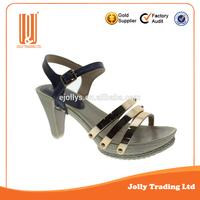 New style PU famous platform shoes women high heel