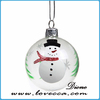 glass angel crafts *Christmas glass ball*hand painted christmas decorations