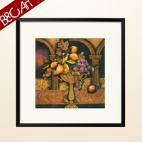 Abstract fruit pictures to print painting