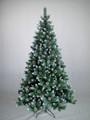 180 centimetri cono bianco con pineale decorazione albero di natale