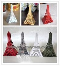 Popular product effiel tower wedding decoration wedding boxes cakes