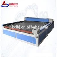 fast fashion apparel automatic feeding laser cutting machine with CCD Camera, 1600*2500mm auto feeding laser cutter