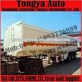 tri eje petrolero remolques 50000 litros del tanque de combustible semi remolque de transporte gasolina del tanque acoplado
