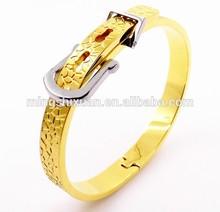 2015 hot design watchband buckle bangle fashion dream of gold bracelet
