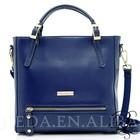 high capacity women gender cowhide leather handbag