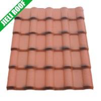 synthetic resin terracotta spanish roof tile
