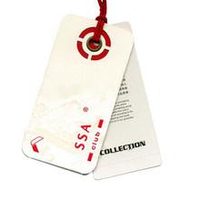 China hole punch hang tag samples