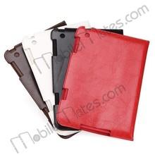 Crazy Horse Pattern Case, Ultra Thin Foldable Stand PC+PU Case, for iPad Mini / iPad Mini 2 Retina / iPad Mini 3 Leather Case