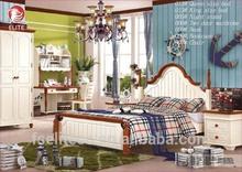 Top selling modern luxury bed/bedroom design/woden double bed