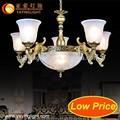 Lampadari e le luci del pendente, bronzo antico lampadario, moderno lampadario in vetro