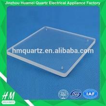 high temperature heating quartz plate glass
