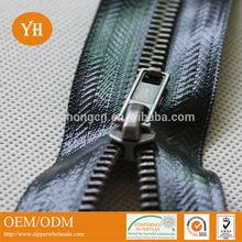 high quality metal waterproof zipper metal material waterproof zippers