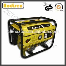 6.5hp gasoline engine petrol 2.5kva generator