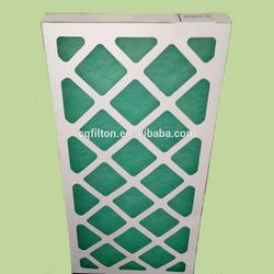 Ahu cleaner box type custom air filter for smoking room