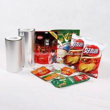 JC food packing film,snack plastic packaging,nitrogen package bags