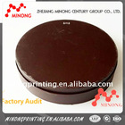 Factory directly provide gift boxes round cardboard brown