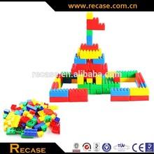 building bricks, plastic connecting and cheaper toys plastic building block